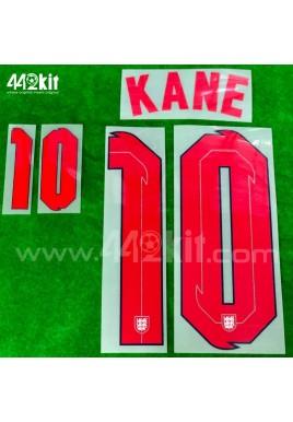 Official KANE #10 England Home 2020-21 PRINT