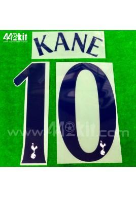 OFFICIAL KANE #10 Tottenham Hotspurs Home CUP EUROPA 2020-21 PRINT
