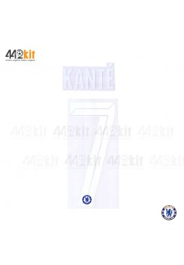 OFFICIAL KANTE' #7 Chelsea Home CUP UCL 2019-20 PRINT