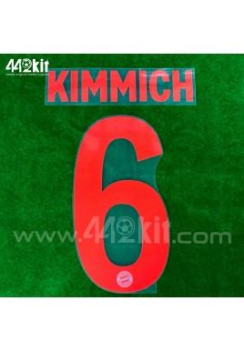 Official KIMMICH #6 FC Bayern Munich Away 2020-21 PU PRINT