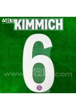 Official KIMMICH #6 FC Bayern Munich Home 2020-21 PU PRINT