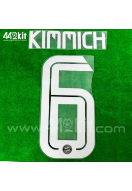 Official KIMMICH #6 FC Bayern Munich 3rd 2020-21 PU PRINT