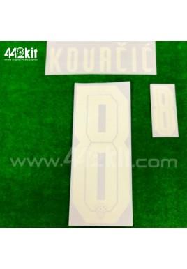 Official KOVACIC #8 CROATIA HNS Away 2020-21 PRINT