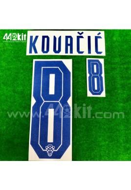 Official KOVACIC #8 CROATIA HNS Home 2020-21 PRINT