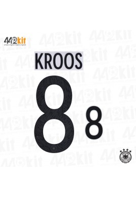 Official KROOS #8 Germany Home EURO 2020 2020-21 PRINT