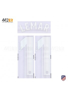 OFFICIAL LEMAR #11 Atletico de Madrid Home LA LIGA 2019-20 PRINT