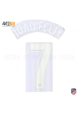 OFFICIAL JOAO FELIX #7 Atletico de Madrid Home LA LIGA 2019-20 PRINT
