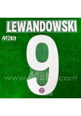 Official LEWANDOWSKI #9 FC Bayern Munich Home 2020-21 PU PRINT