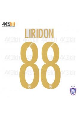 OFFICIAL LIRIDON #88 JOHOR DARUL TAKZIM FC AWAY MSL 2020 PRINT