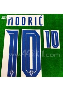 Official MODRIC #10 CROATIA HNS Home 2020-21 PRINT