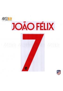 OFFICIAL JOAO FELIX #7 Atletico de Madrid Away UCL 2019-20 PRINT