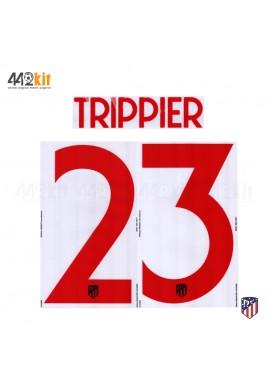 OFFICIAL TRIPPIER #23 Atletico de Madrid Away UCL 2019-20 PRINT