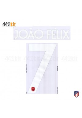 OFFICIAL JOAO FELIX #7 Atletico de Madrid Home UCL 2019-20 PRINT
