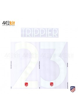 OFFICIAL TRIPPIER #23 Atletico de Madrid Home UCL 2019-20 PRINT