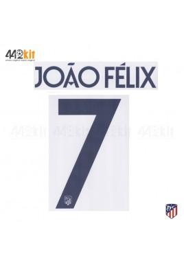 OFFICIAL JOAO FELIX #7 Atletico de Madrid 3rd UCL 2019-20 PRINT