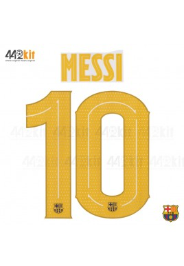 OFFICIAL PLAYER ISSUE MESSI #10 FC Barcelona Home UCL 2019-20 PRINT