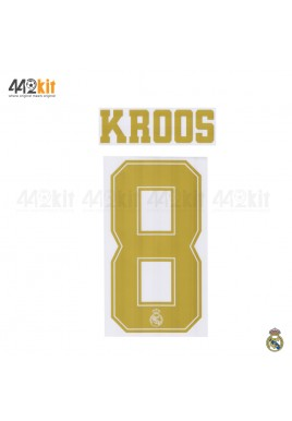 Official KROOS #8 Real Madrid CF Home Away 2019-20 PRINT