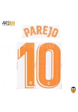Official PAREJO #10 Valencia CF Away 2019-2020 PRINT