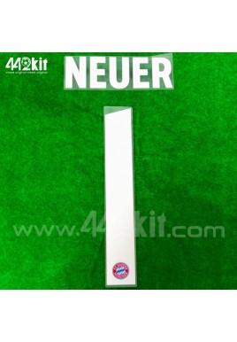 Official NEUER #1 FC Bayern Munich Home 2020-21 PU PRINT