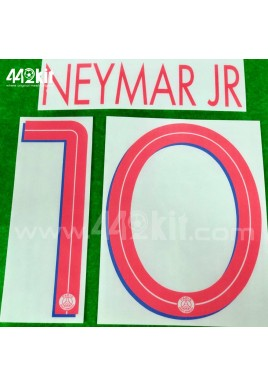 Official NEYMAR JR #10 PSG Away UCL 2020-21 PRINT