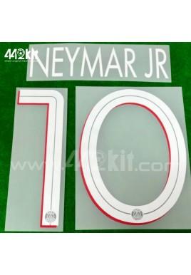 Official NEYMAR JR #10 PSG Home UCL 2020-21 PRINT