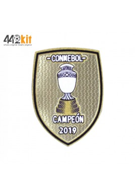 OFFICIAL Brazil CONMEBOL CAMPEON 2019 COPA AMERICA WINNER PATCH