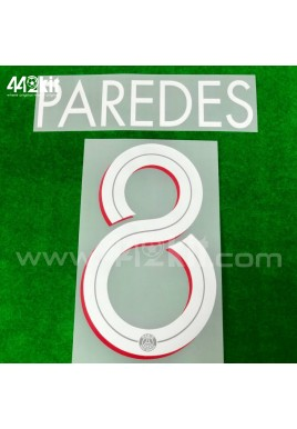 Official PAREDES #8 PSG Home UCL 2020-21 PRINT