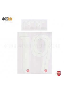 Official PEPE #19 Arsenal FC Home CUP 2019-20 PRINT