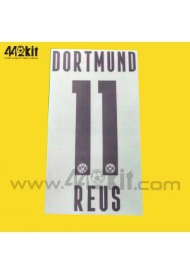 Official REUS #11 Borussia Dortmund BVB Home 2020-21 PU PRINT