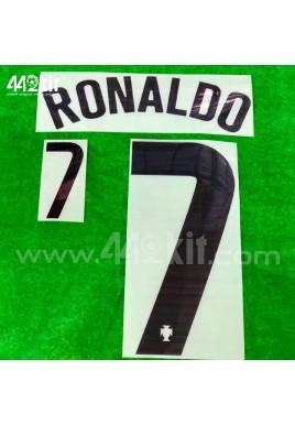 Official RONALDO #7 Portugal FPF Away 2020-21 PRINT