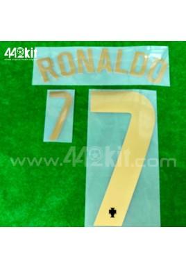 Official RONALDO #7 Portugal FPF Home 2020-21 PRINT