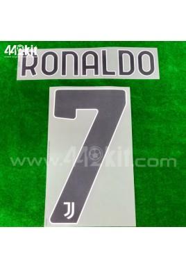 Official RONALDO #7 Juventus FC Home 2020-21 PRINT