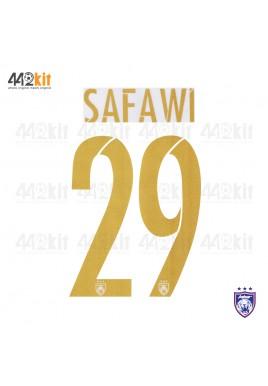 OFFICIAL SAFAWI #29 JOHOR DARUL TAKZIM FC AWAY MSL 2020 PRINT