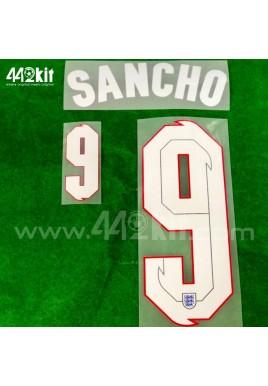Official SANCHO #9 England Away 2020-21 PRINT