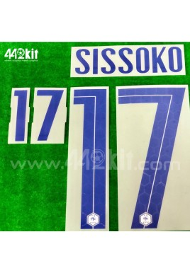 Official SISSOKO #17 France FFF Away 2020-21 PRINT