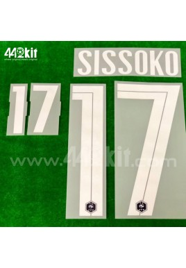 Official SISSOKO #17 France FFF Home 2020-21 PRINT