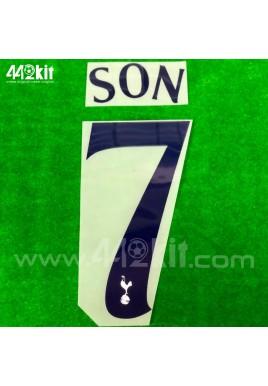 OFFICIAL SON #7 Tottenham Hotspurs Home CUP EUROPA 2020-21 PRINT