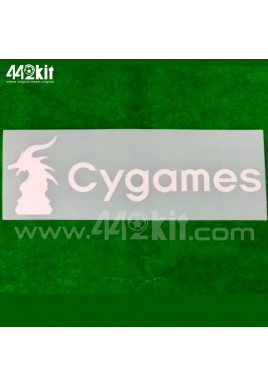OFFICIAL CYGAMES Juventus Away 2020-21 BACK SPONSOR PRINT