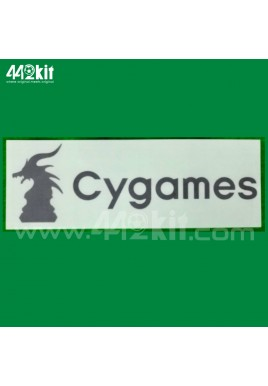 OFFICIAL CYGAMES Juventus Home 2020-21 BACK SPONSOR PRINT