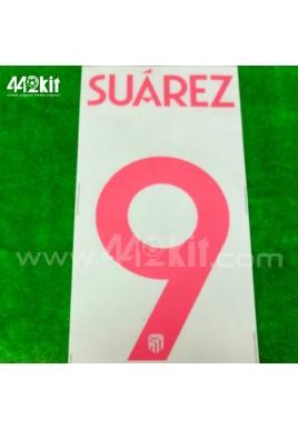 OFFICIAL SUAREZ #9 Atletico de Madrid Away UCL 2020-21 PRINT