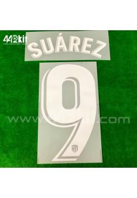 OFFICIAL SUAREZ #9 Atletico de Madrid Home LA LIGA 2020-21 PRINT