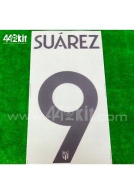 OFFICIAL SUAREZ #9 Atletico de Madrid 3rd UCL 2020-21 PRINT