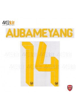 Official AUBAMEYANG #14 Arsenal FC 3rd CUP 2019-20 PRINT