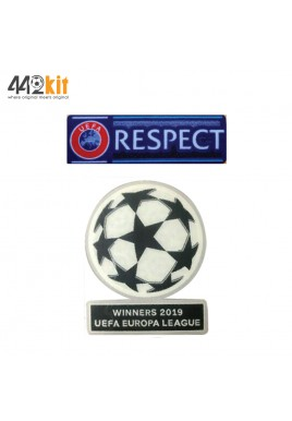 Official UEFA EUROPA LEAGUE WINNERS 2019 + RESPECT SENSCILIA Patch