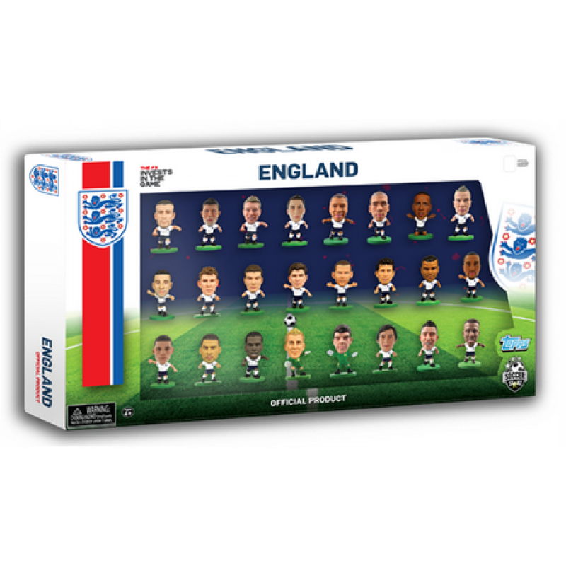 ENGLAND 24 FIGURINE TEAM PACK (V2)